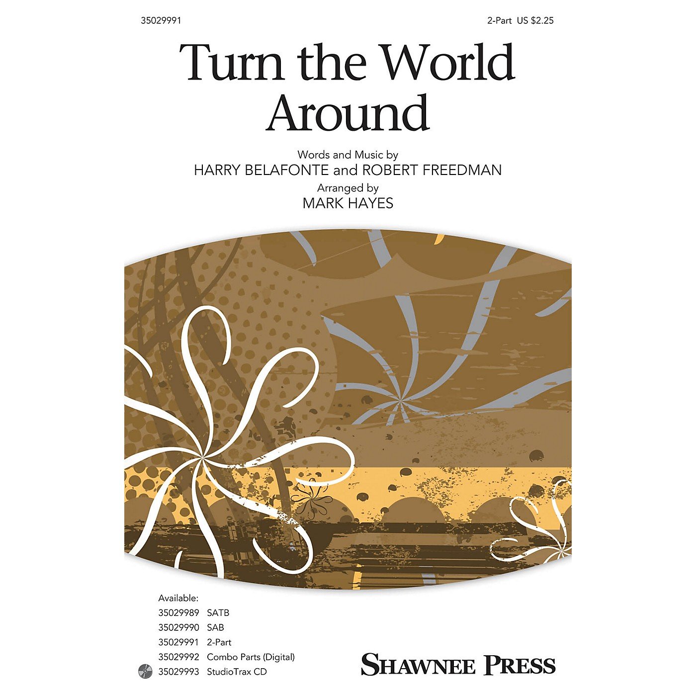 Shawnee Press Turn the World Around 2-Part arranged by Mark Hayes thumbnail