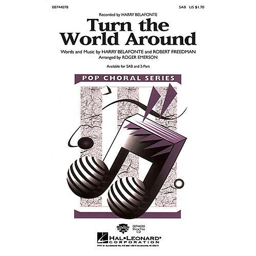 Hal Leonard Turn the World Around SAB arranged by Roger Emerson thumbnail