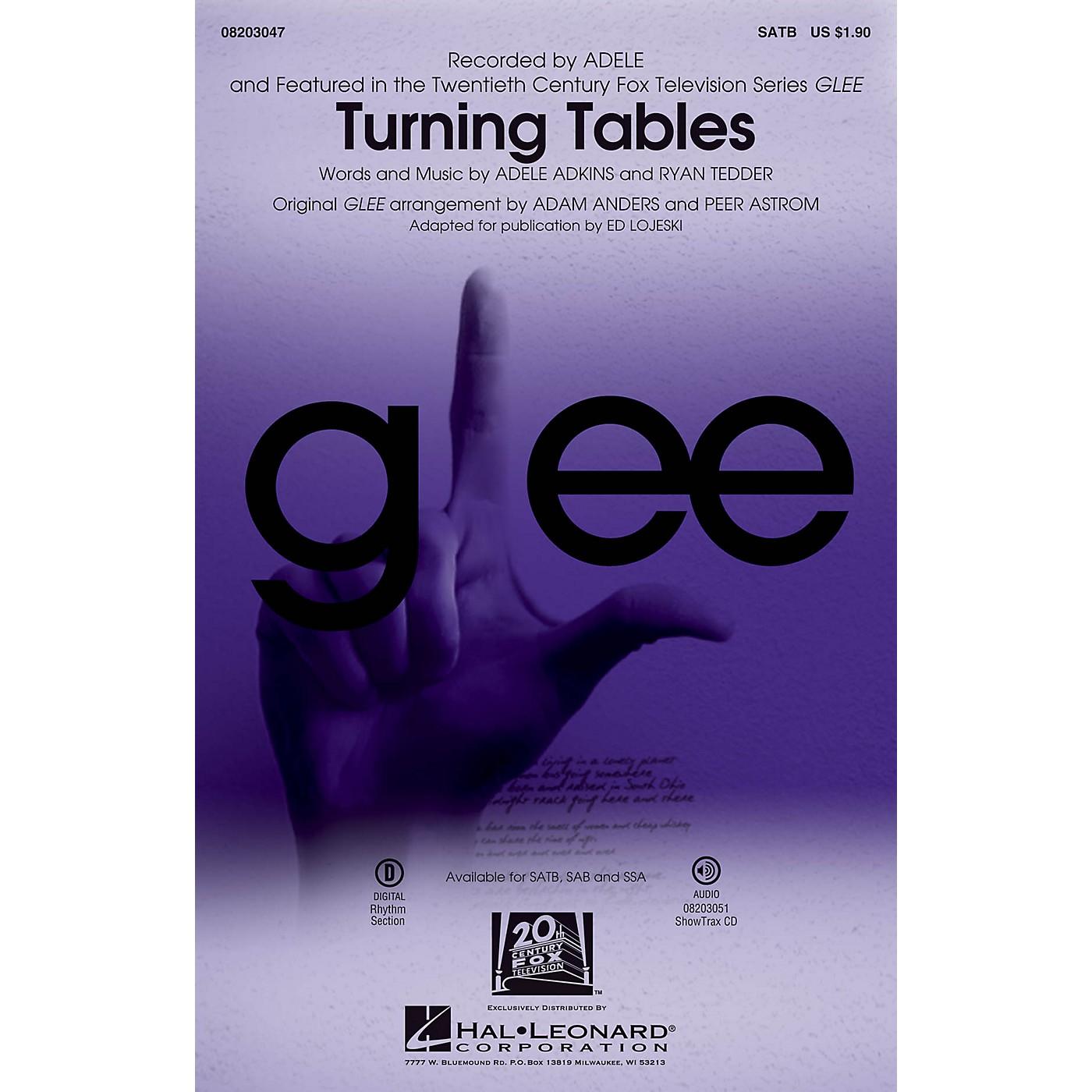 Hal Leonard Turning Tables SATB by Adele arranged by Ed Lojeski thumbnail