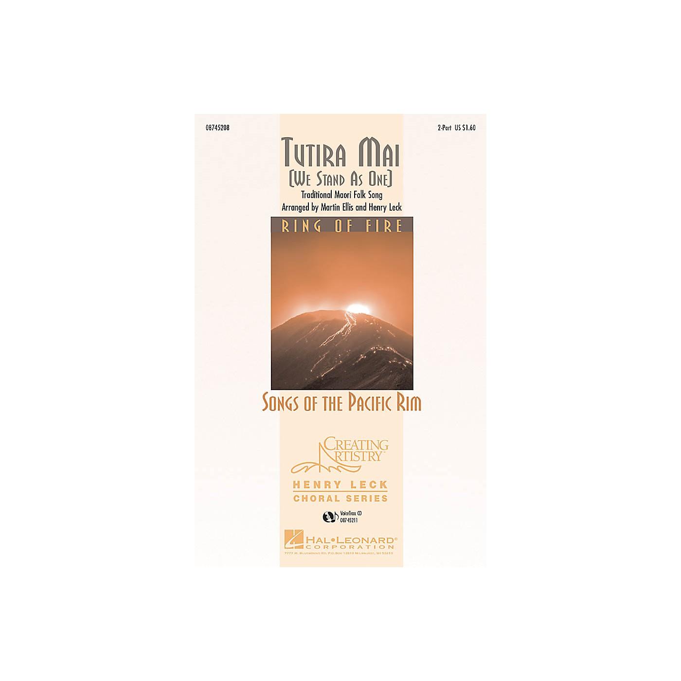 Hal Leonard Tutira Mai VoiceTrax CD thumbnail