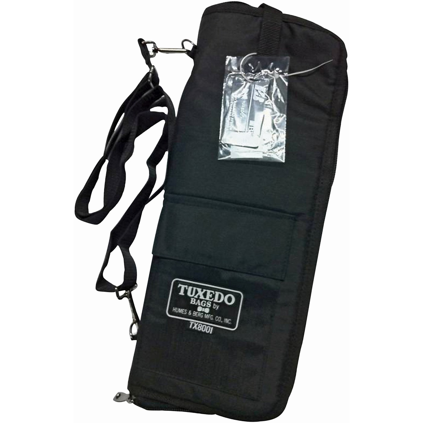 Humes & Berg Tuxedo Stick Bag with Shoulder Strap thumbnail