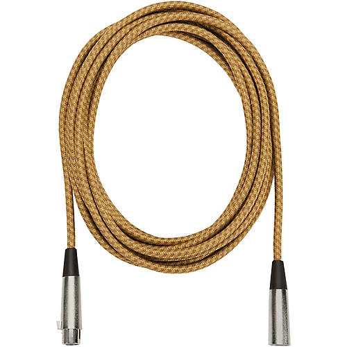 Musician's Gear Tweed Lo-Z Woven XLR Mic Cable thumbnail