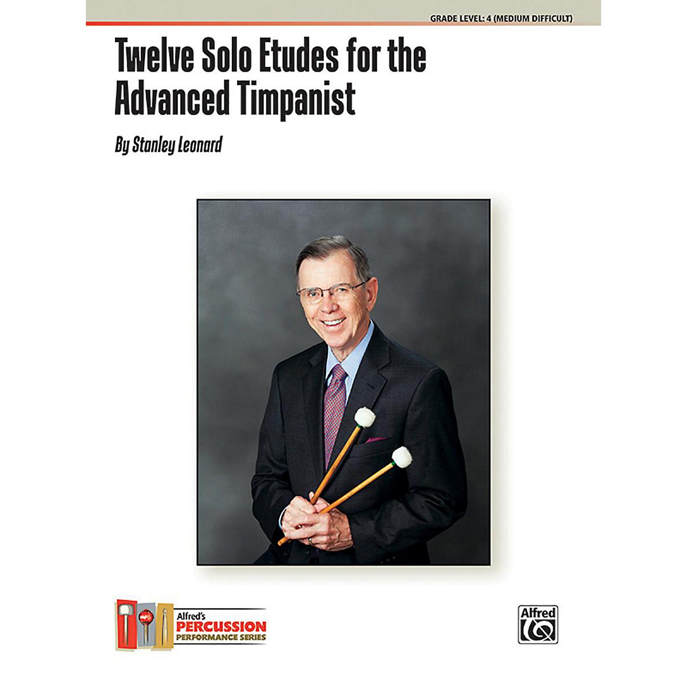 Alfred Twelve Solo Etudes for the Advanced Timpanist Book thumbnail