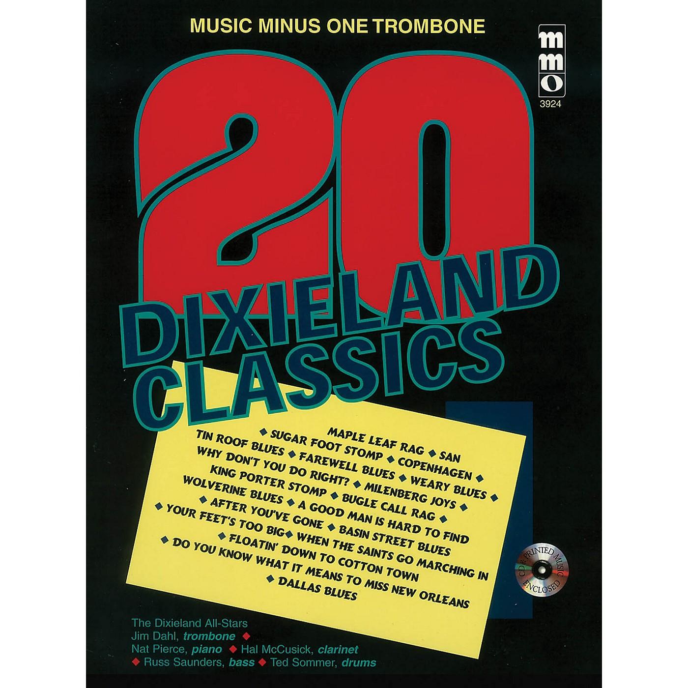 Music Minus One Twenty Dixieland Classics (Music Minus One Trombone) Music Minus One Series Softcover with CD thumbnail