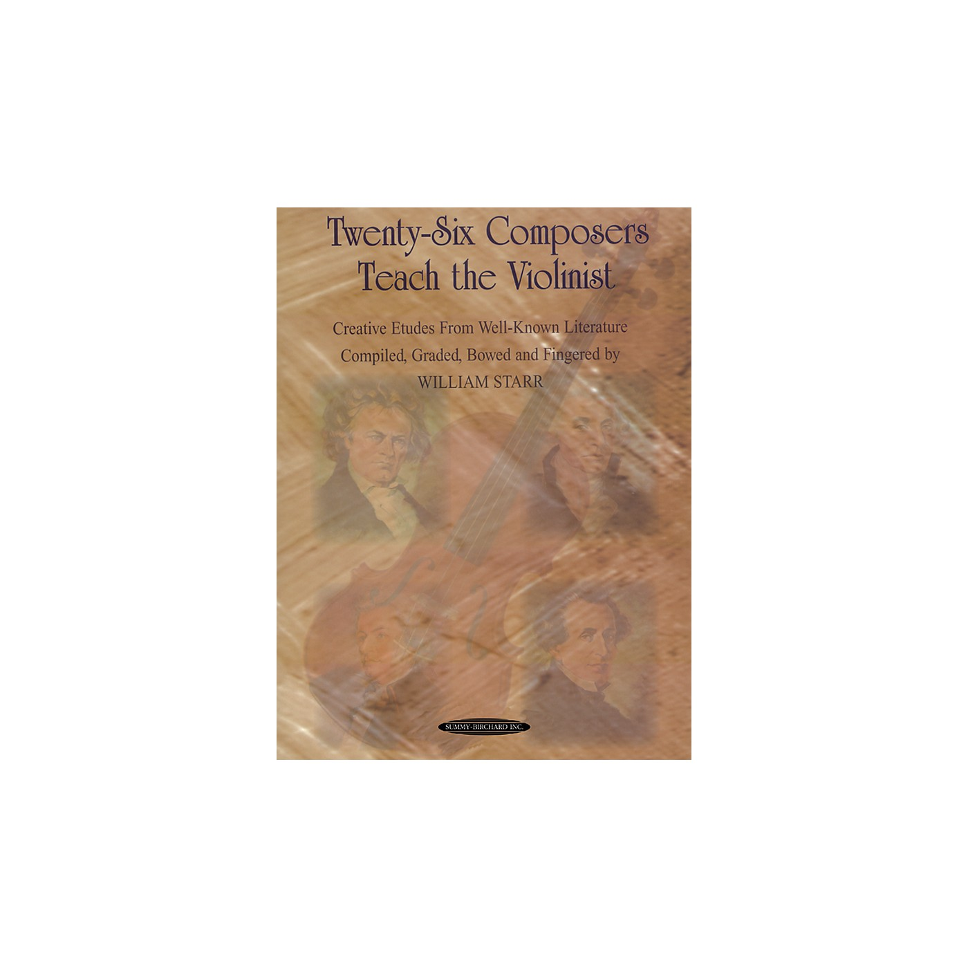 Alfred Twenty-Six Composers Teach the Violinist (Book) thumbnail