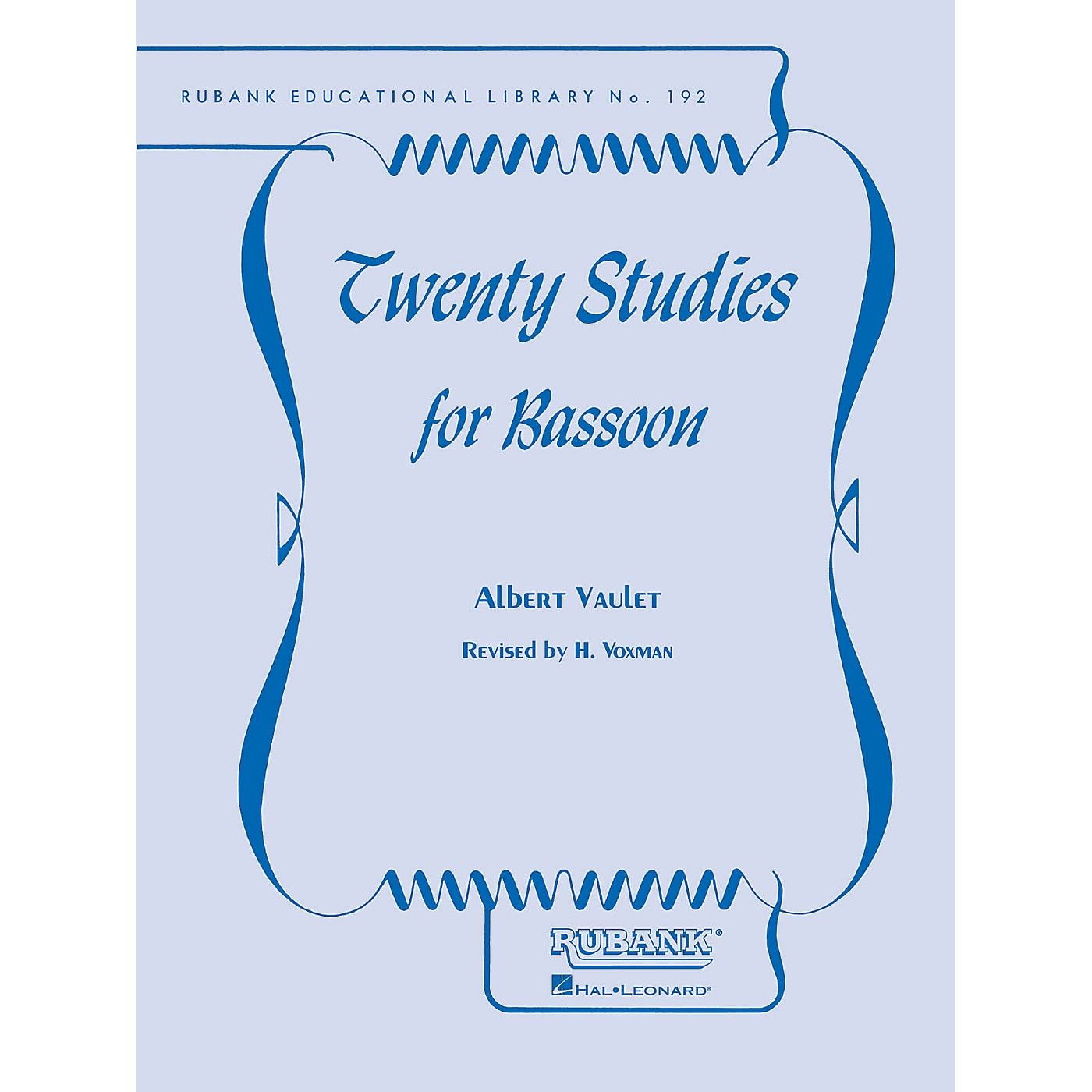 Rubank Publications Twenty Studies for Bassoon Woodwind Method Series thumbnail