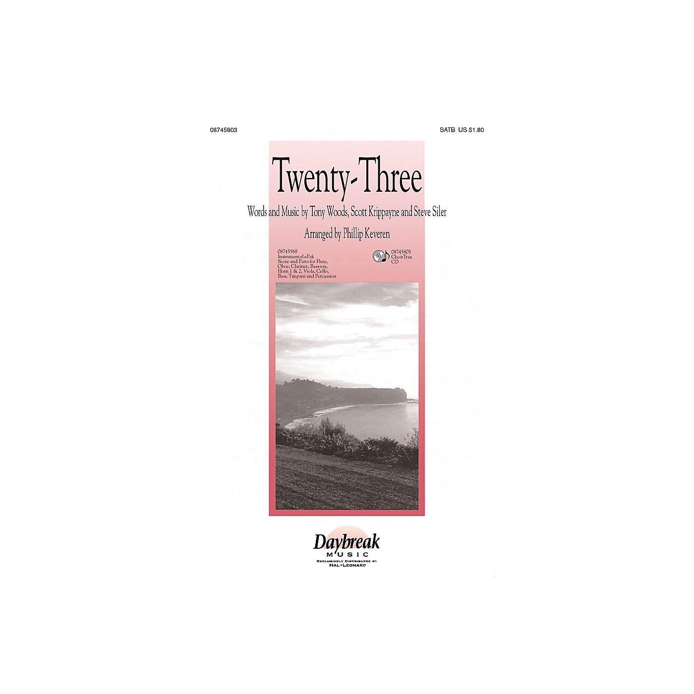 Daybreak Music Twenty-Three (The Lord Is My Shepherd) IPAKCO Arranged by Phillip Keveren thumbnail