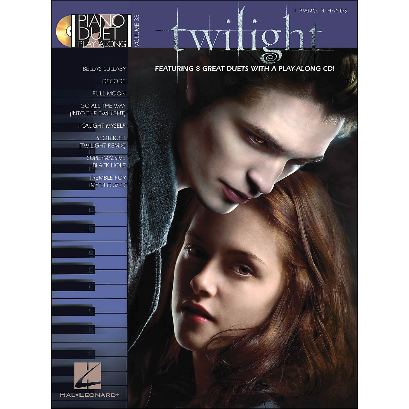 Hal Leonard Twilight - Music From The Motion Picture Soundtrack - Piano Duet Play-Along Vol 33 thumbnail