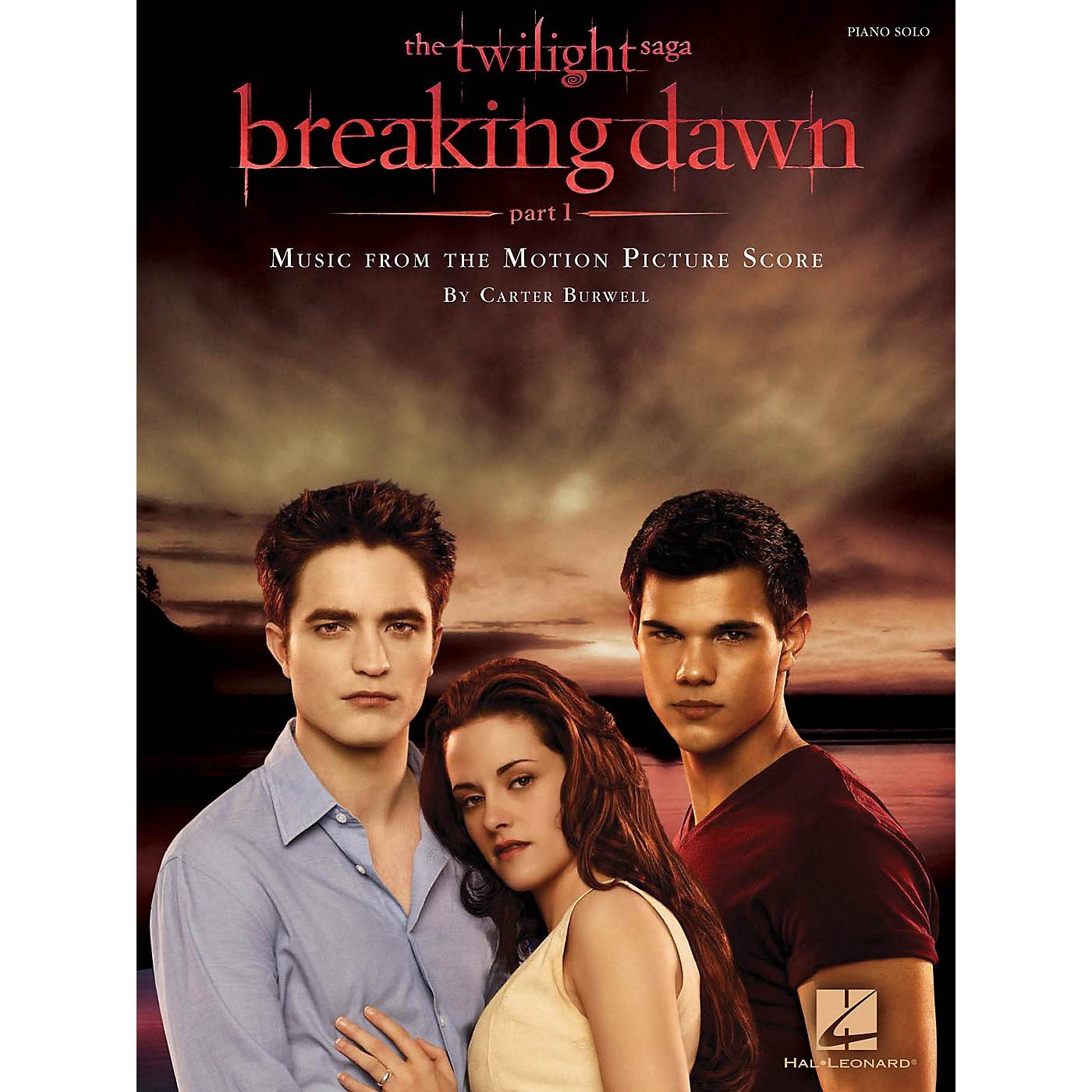Hal Leonard Twilight: Breaking Dawn Part 1 - Music From The Motion Picture Score For Piano Solo thumbnail