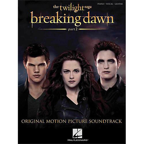 Hal Leonard Twilight: Breaking Dawn Part 2 for P/V/G (Piano/Vocal/Guitar) thumbnail