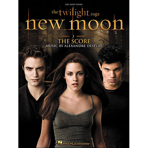 Hal Leonard Twilight: New Moon - Music From The Motion Picture Score for Big Note Piano thumbnail