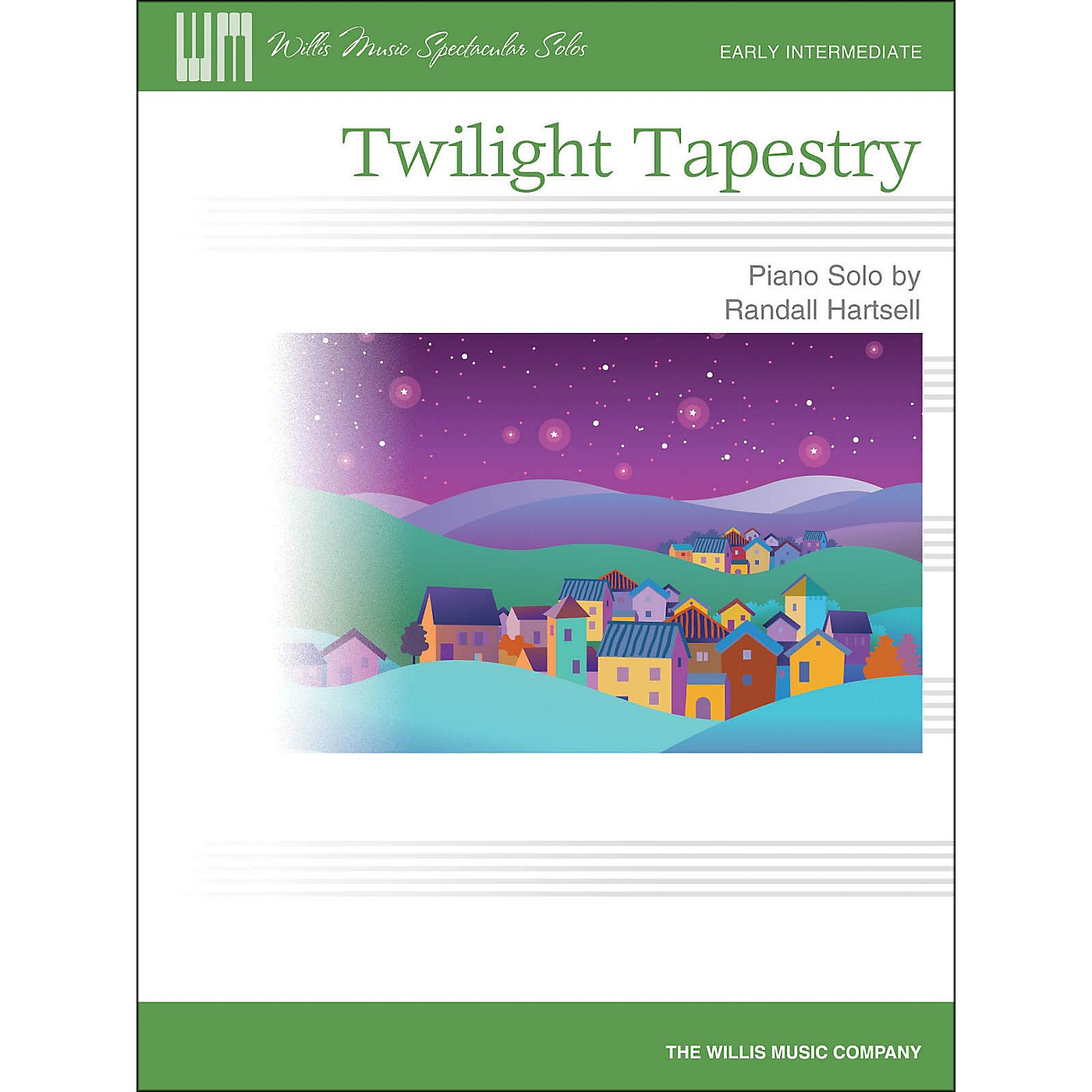 Hal Leonard Twilight Tapestry - Early Intermediate Piano Solo Sheet thumbnail