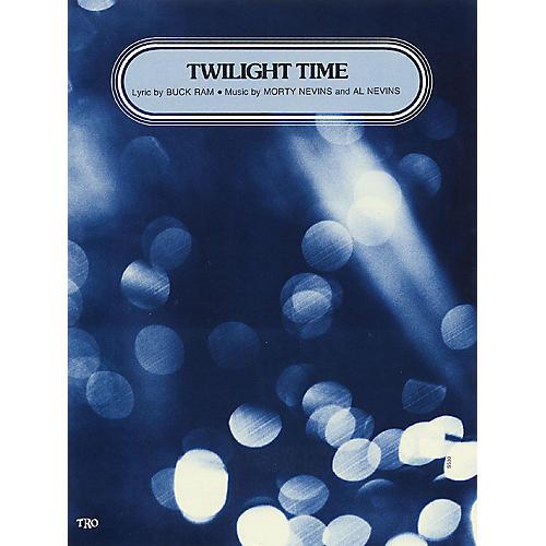 TRO ESSEX Music Group Twilight Time Richmond Music ¯ Sheet Music Series thumbnail