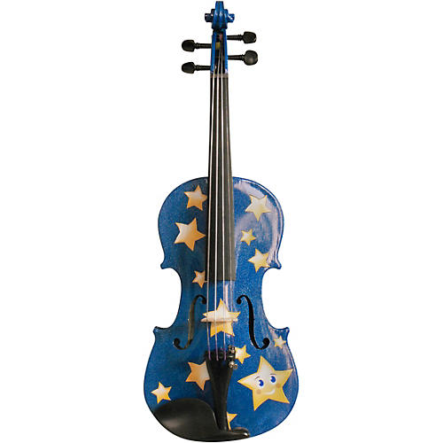Rozanna's Violins Twinkle Star Blue Glitter Series Violin Outfit thumbnail