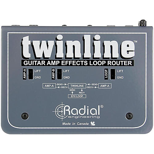 Radial Engineering Twinline Dual Effects Loop Interface for Two Amps thumbnail
