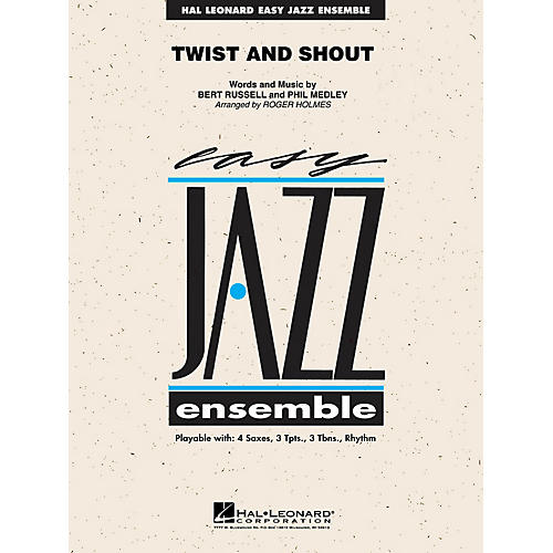 Hal Leonard Twist and Shout Jazz Band Level 2 by The Beatles Arranged by Roger Holmes thumbnail