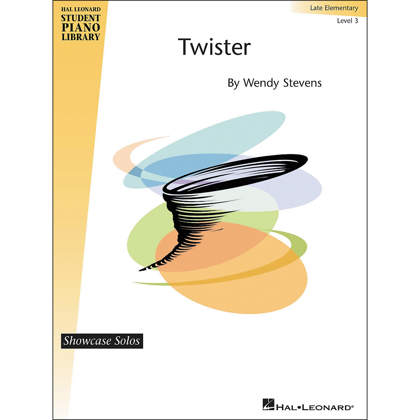 Hal Leonard Twister - Showcase Solos Level 3 Hal Leonard Student Piano Library by Stevens thumbnail