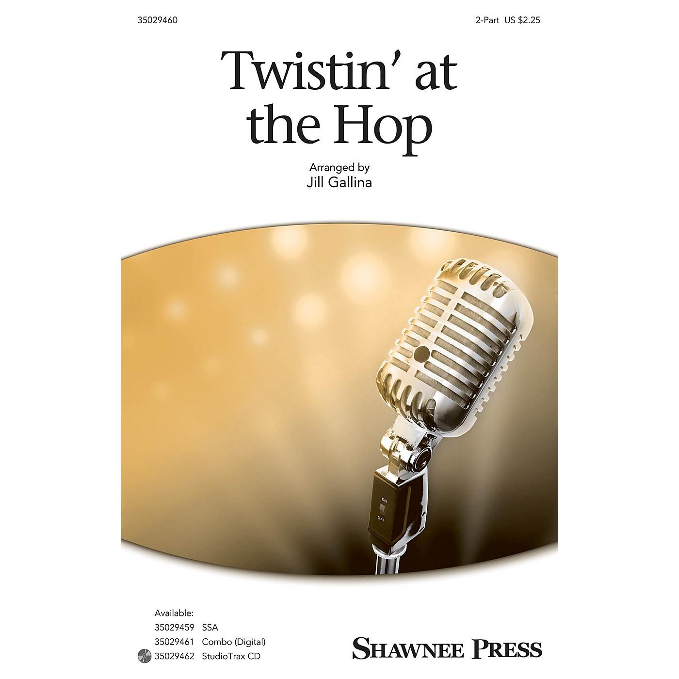 Shawnee Press Twistin' at the Hop 2-Part arranged by Jill Gallina thumbnail