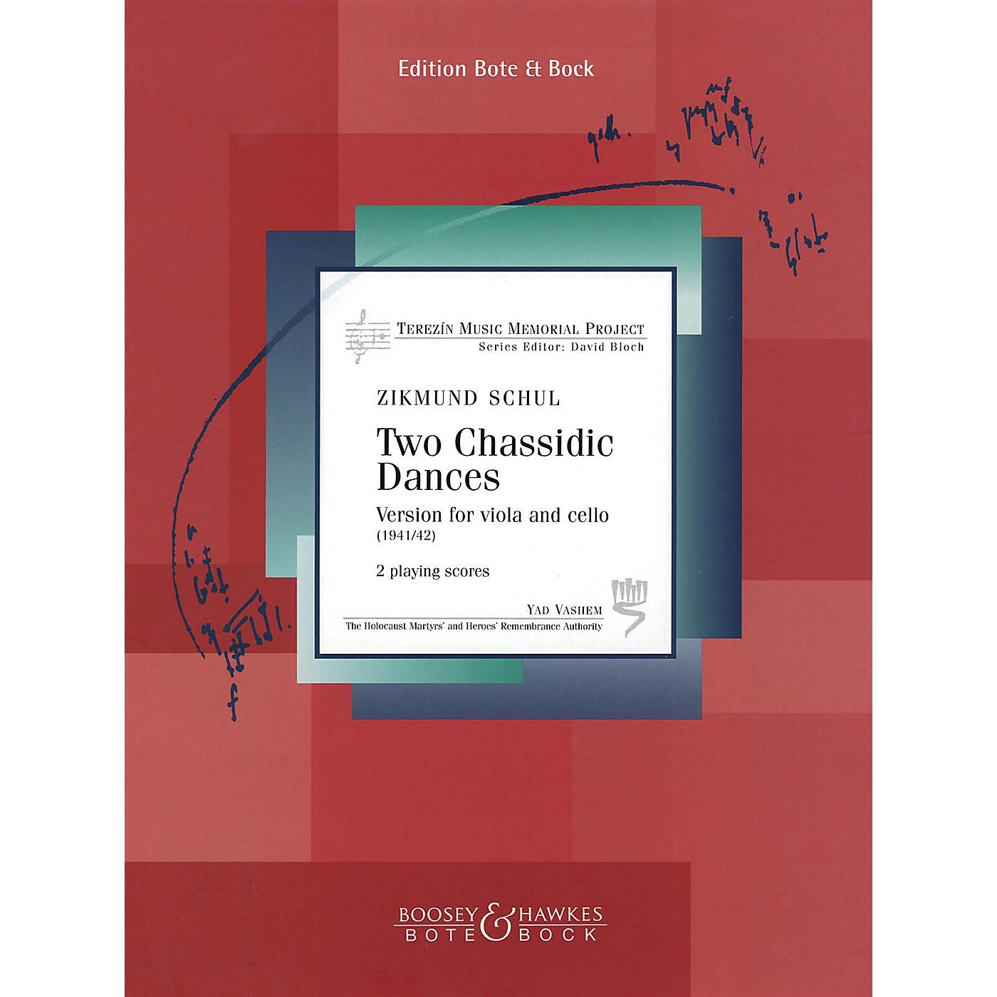 Hal Leonard Two (2) Chassidic Dances For Viola And Cello (1941/42) Terezin Memorial Project thumbnail
