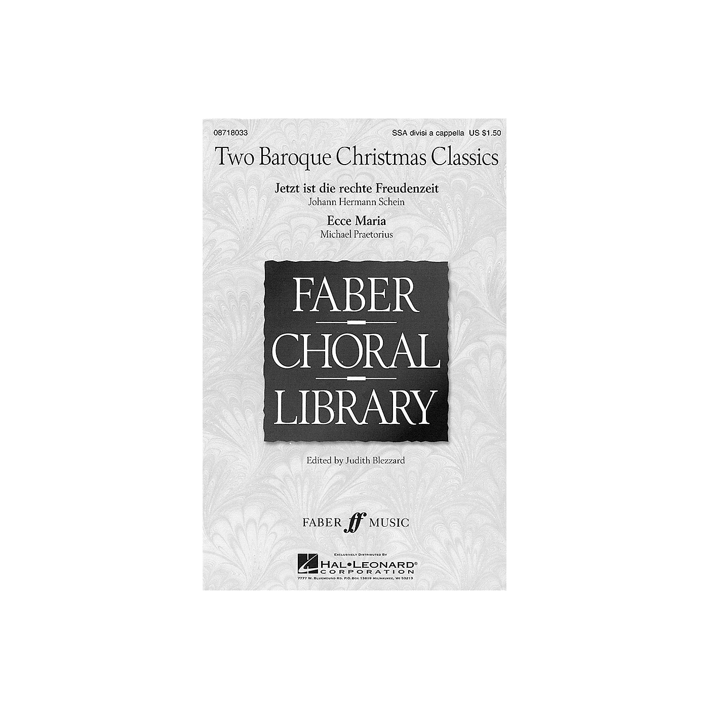 Hal Leonard Two Baroque Christmas Classics SSA Div A Cappella arranged by Judith Blezzard thumbnail