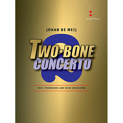 Amstel Music Two-Bone Concerto - 2 Trombones and Wind Orchestra (Includes Score Only) thumbnail