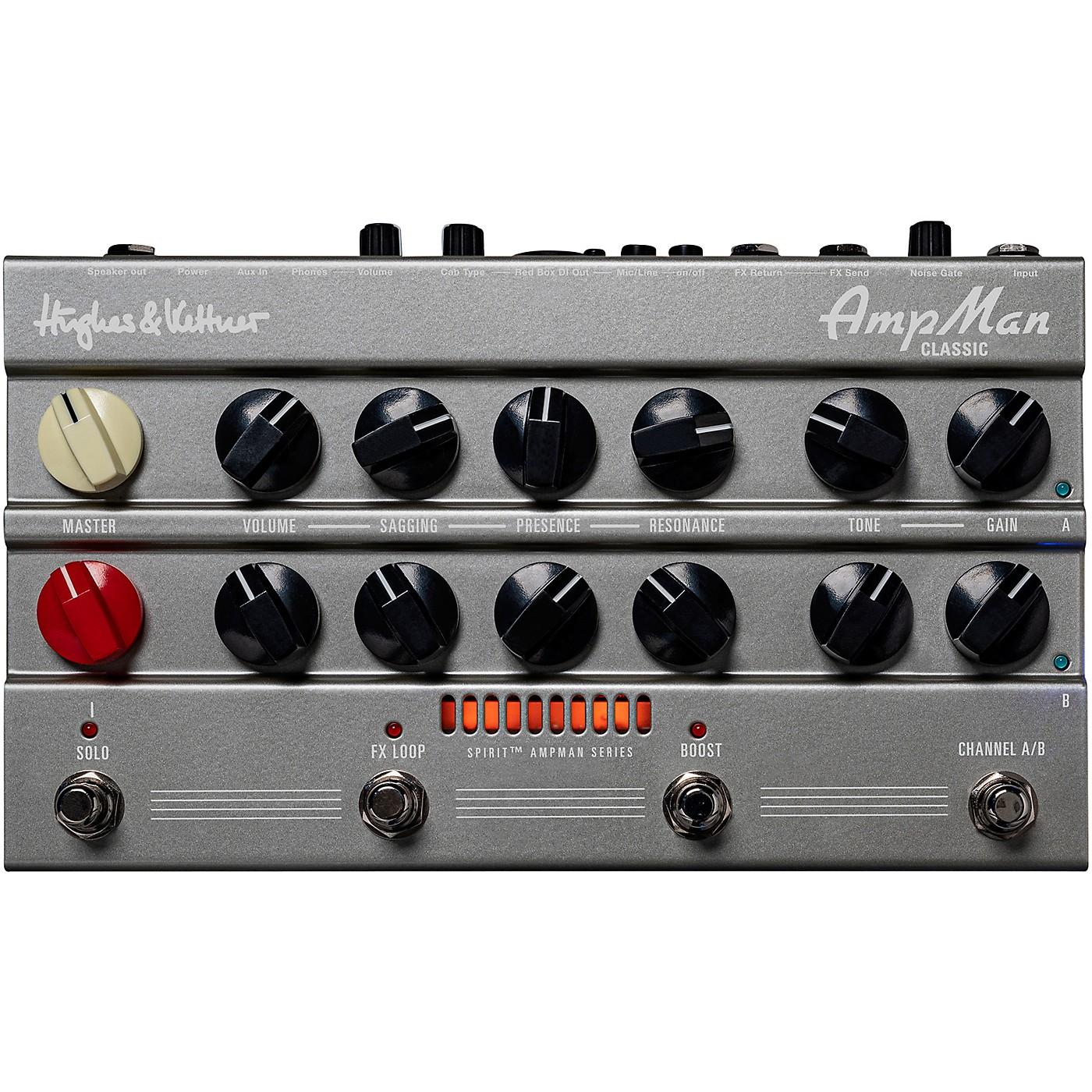 Hughes & Kettner Two Channel 50watt Classic tone pedalamp. F/X loop, Redbox AE+, Headphone out thumbnail