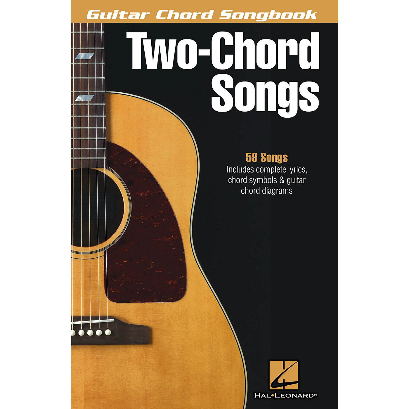 Hal Leonard Two-Chord Songs - Guitar Chord Songbook Guitar Chord Songbook Series Softcover Performed by Various thumbnail