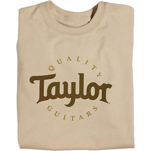 Taylor Two-Color Logo T-Shirt Sand thumbnail