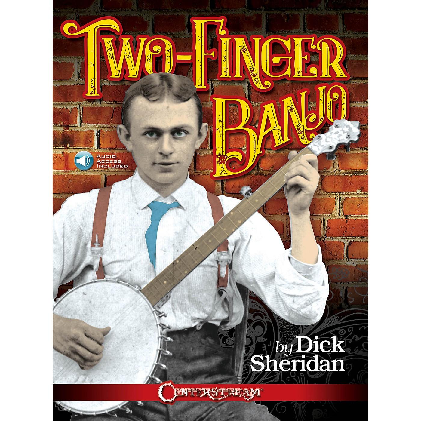 Hal Leonard Two-Finger Banjo by Dick Sheridan Book/Audio Online thumbnail