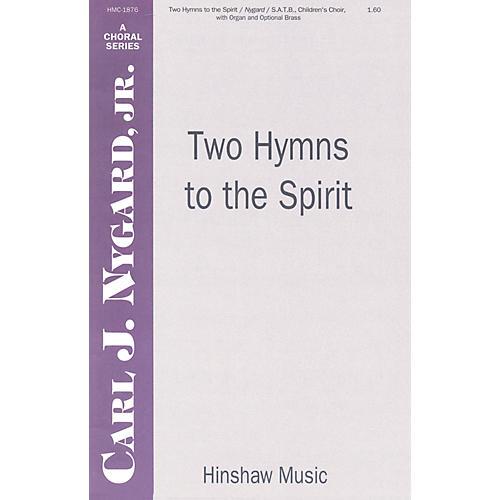 Hinshaw Music Two Hymns to the Spirit SATB arranged by Carl Nygard, Jr. thumbnail