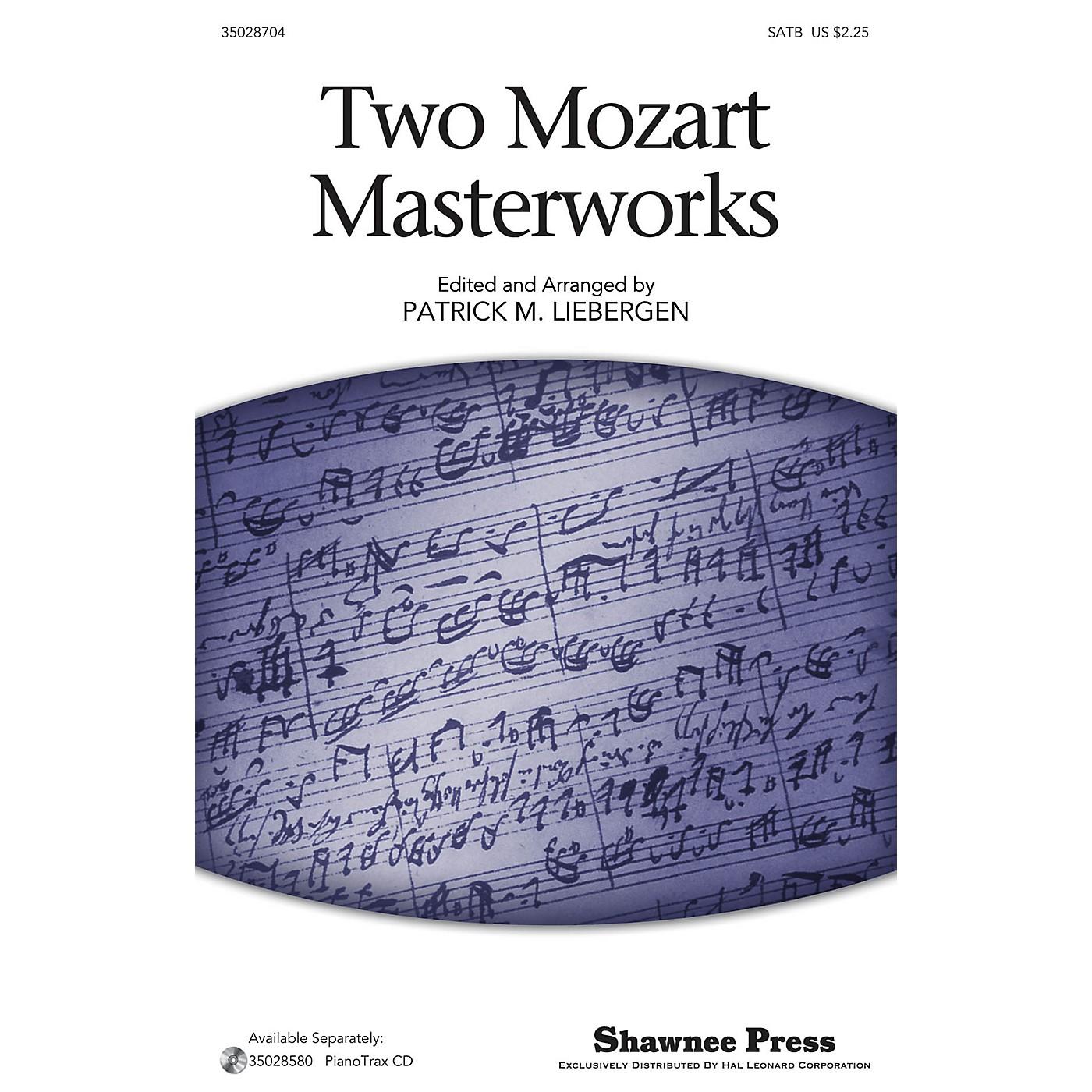 Shawnee Press Two Mozart Masterworks SATB arranged by Patrick Liebergen thumbnail