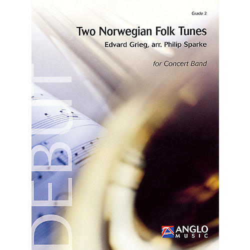 Anglo Music Press Two Norwegian Folk Tunes (Grade 2 - Score Only) Concert Band Level 2 Arranged by Philip Sparke thumbnail