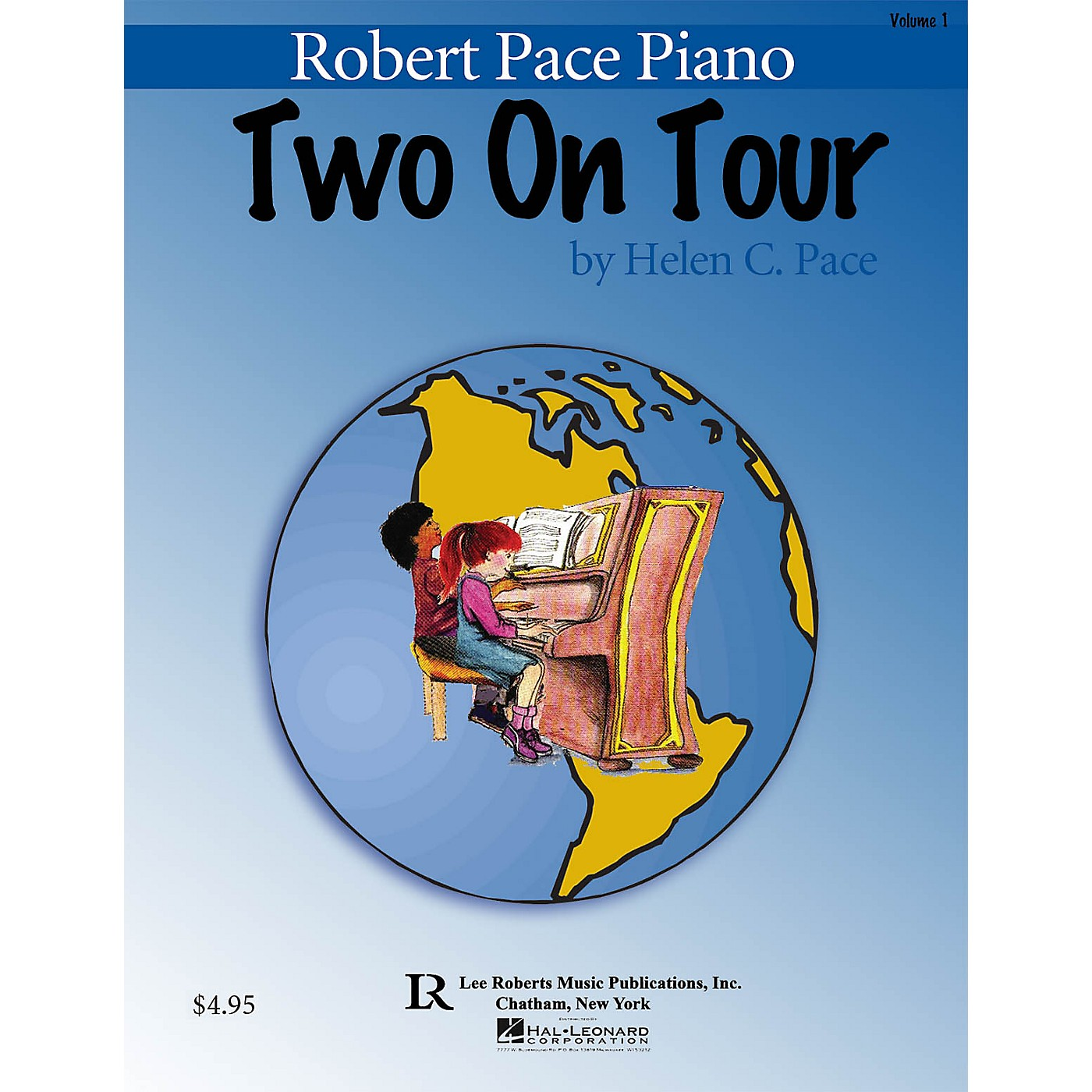 Lee Roberts Two On Tour Book 1 (Easy Piano Duets) Pace Piano Education Series Softcover Composed by Helen C. Pace thumbnail