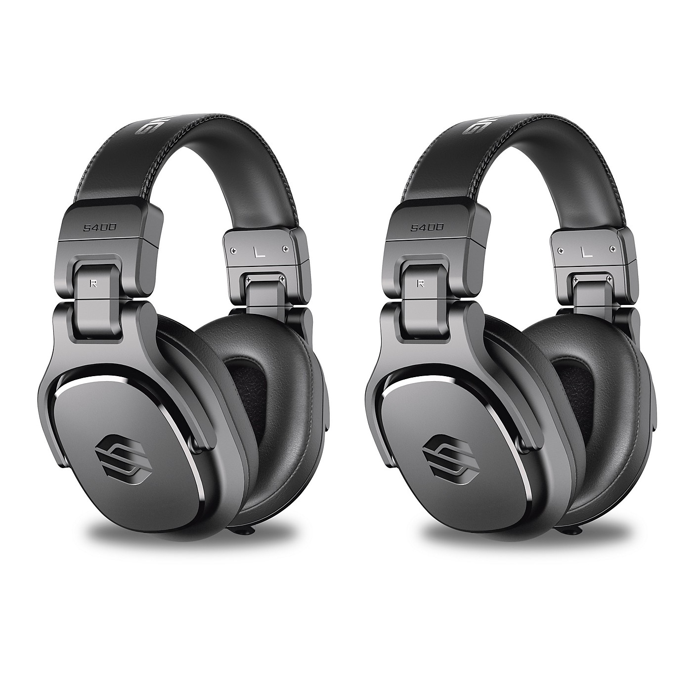Sterling Audio Two Pair of S400 Headphones With 40 mm Drivers thumbnail