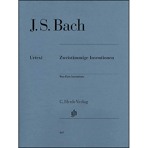G. Henle Verlag Two Part Inventions BWV 772-786 By Bach thumbnail