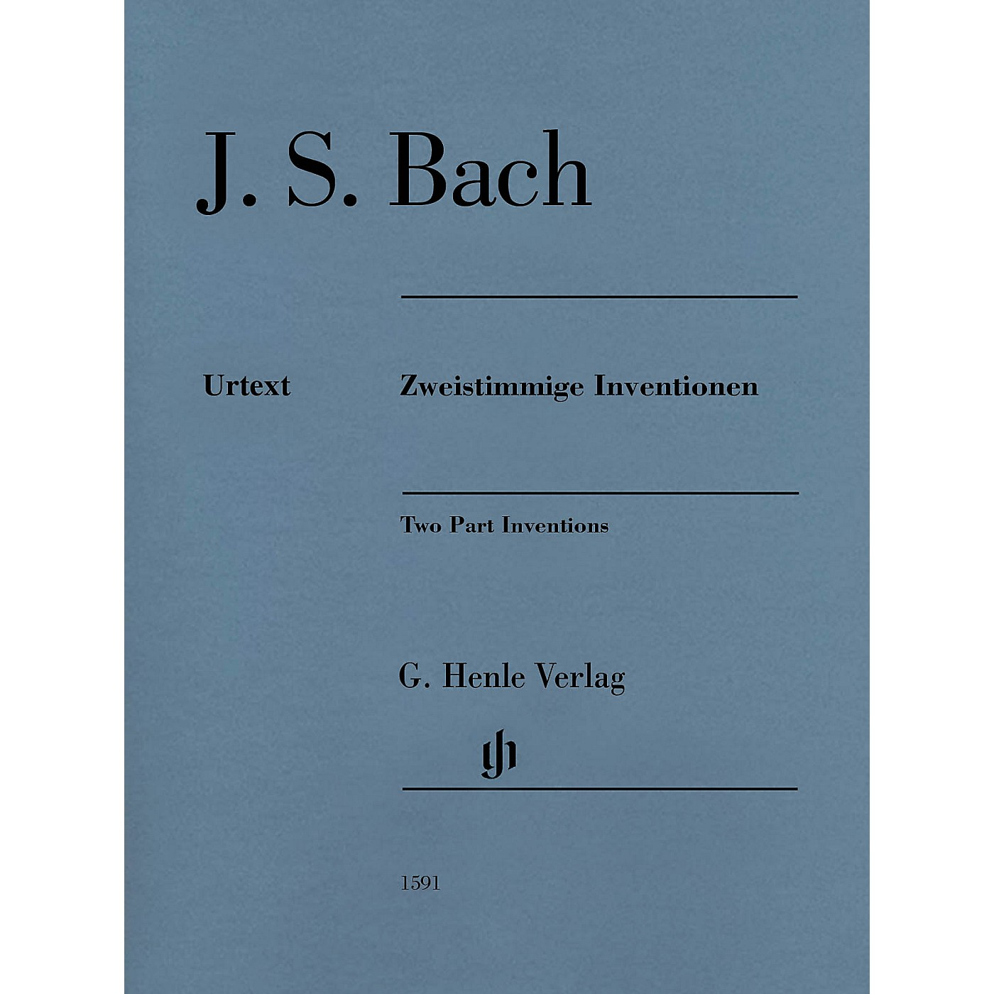G. Henle Verlag Two Part Inventions (Revised Edition - Paperbound Without Fingerings) Henle Music Folios Series Softcover thumbnail