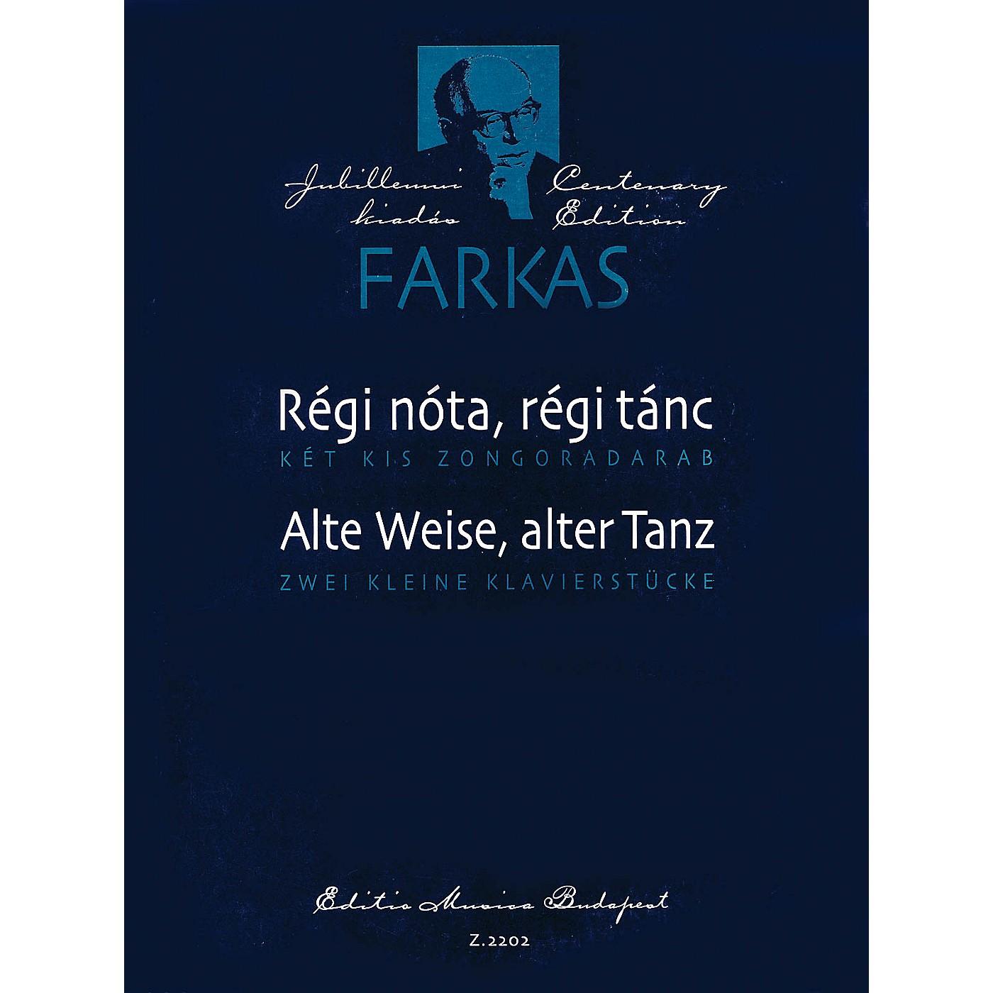 Editio Musica Budapest Two Piano Pieces (Régi nóta, régi tánc (Alte Weise, alter Tanz)) EMB Series thumbnail