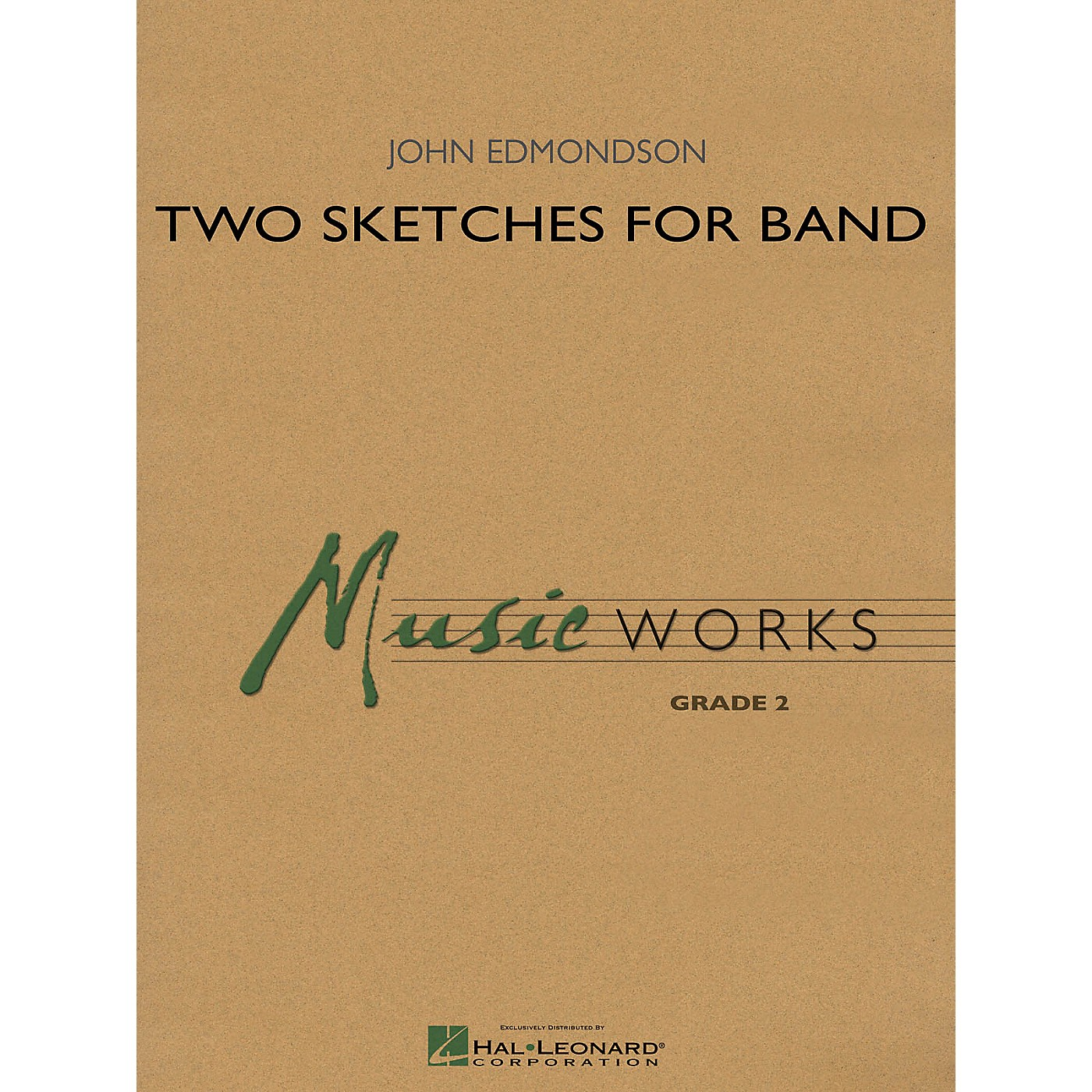 Hal Leonard Two Sketches for Band Concert Band Level 2 Composed by John Edmondson thumbnail