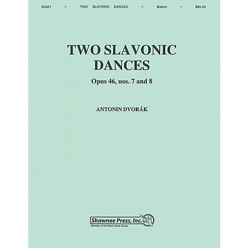 Hal Leonard Two Slavonic Dances Concert Band Level 3 Arranged by Andrew Balent thumbnail