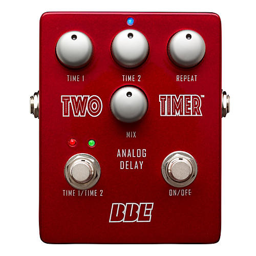 BBE Two Timer Analog Delay Guitar Effects Pedal-thumbnail