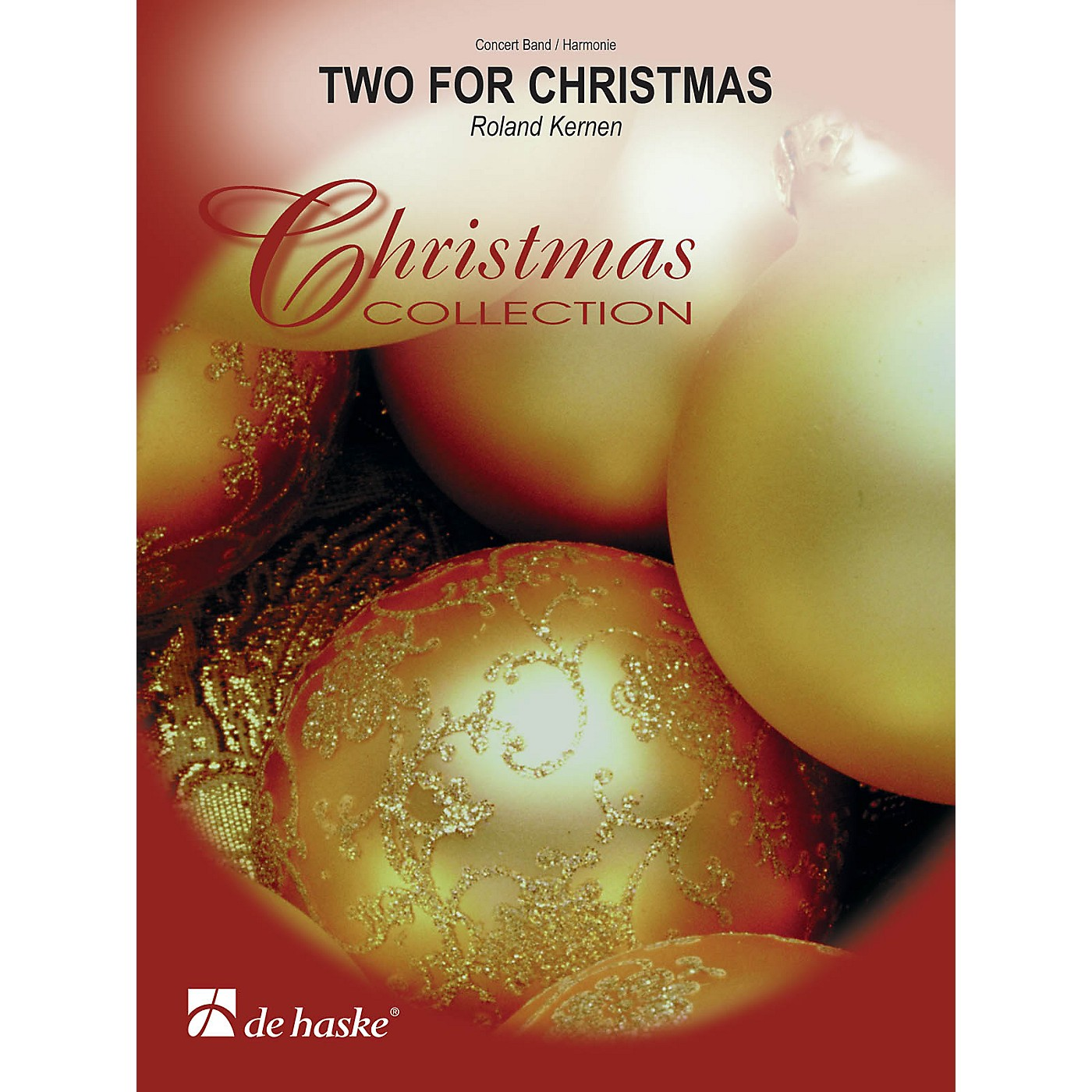 De Haske Music Two for Christmas Concert Band Level 3 Composed by Roland Kernen thumbnail