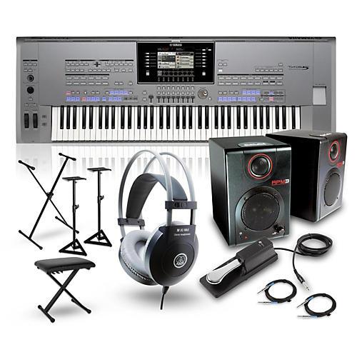 Yamaha Tyros5-76 Portable Keyboard Package thumbnail