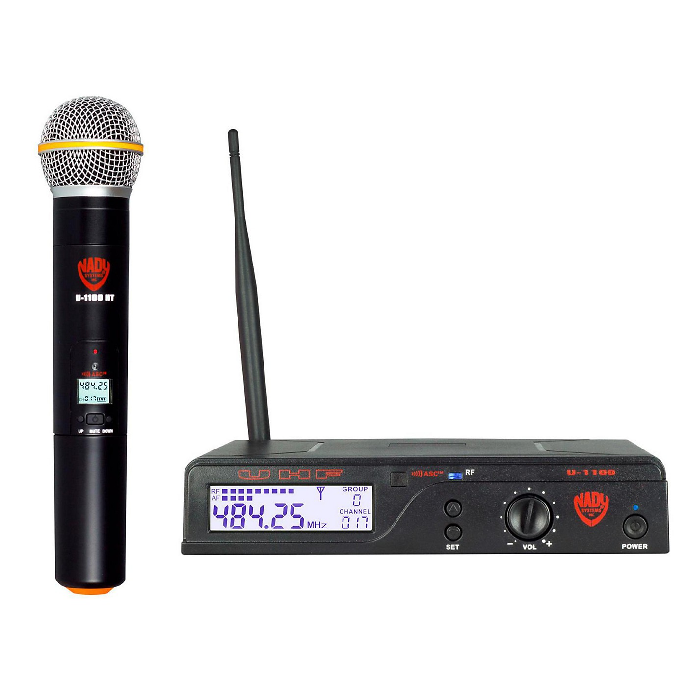 Nady U-1100 HT - 100 Channel UHF Handheld Wireless Microphone System thumbnail