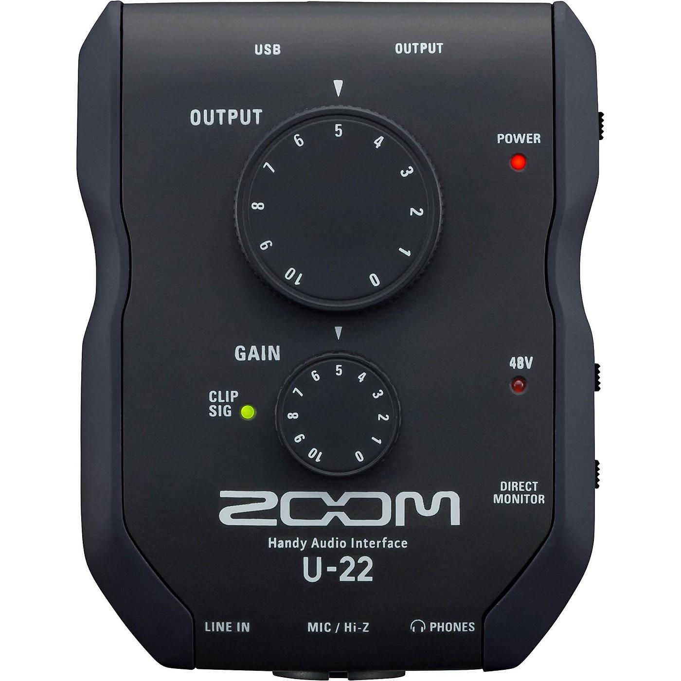 Zoom U-22 Handy Audio Interface thumbnail