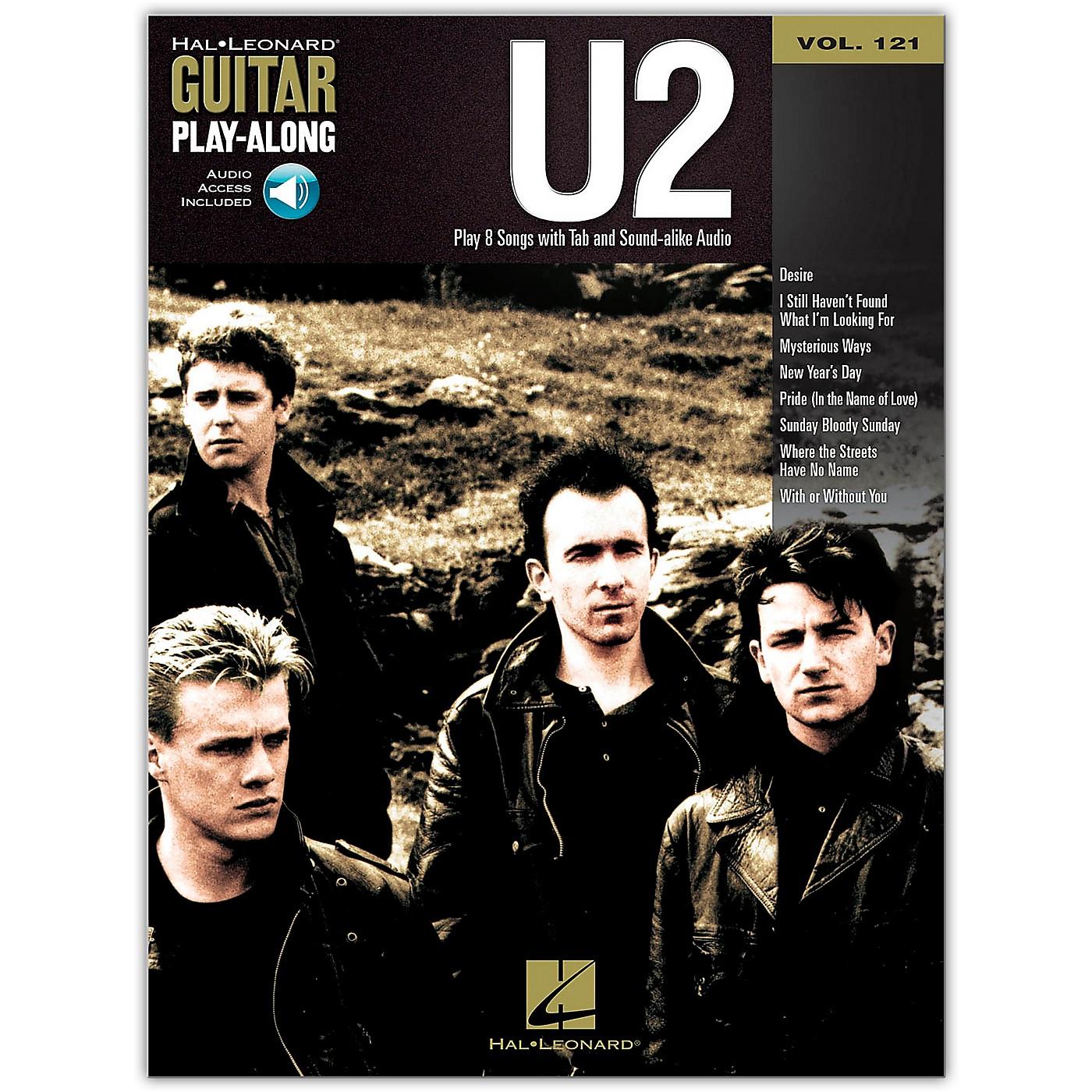 Hal Leonard U2 - Guitar Play-Along Volume 121 (Book/Online Audio) thumbnail