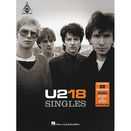 Hal Leonard U2 18 Singles Guitar Tab Songbook thumbnail