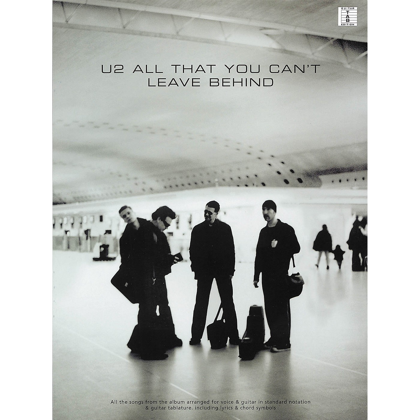Hal Leonard U2 All That You Can't Leave Behind Guitar Tab Songbook thumbnail