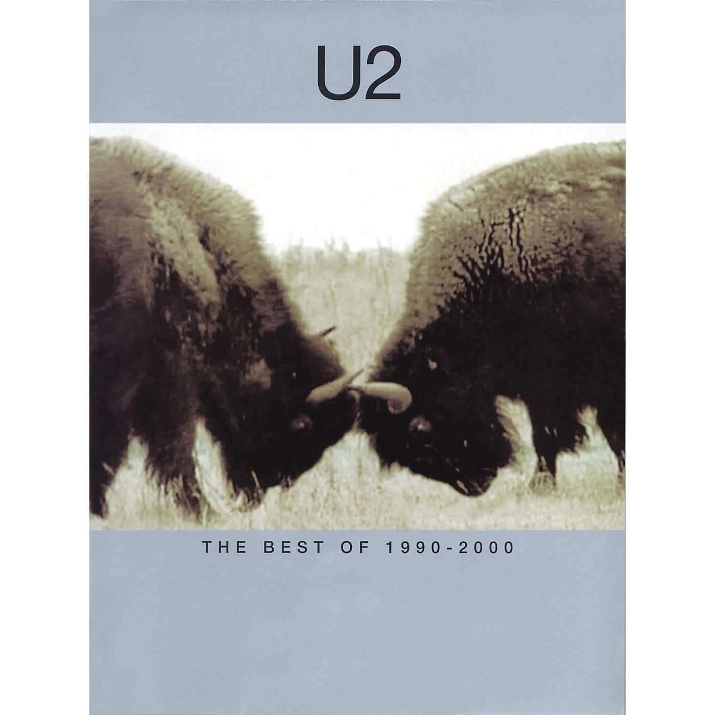 Hal Leonard U2-Best of 1990-2000 Piano, Vocal, Guitar Songbook thumbnail