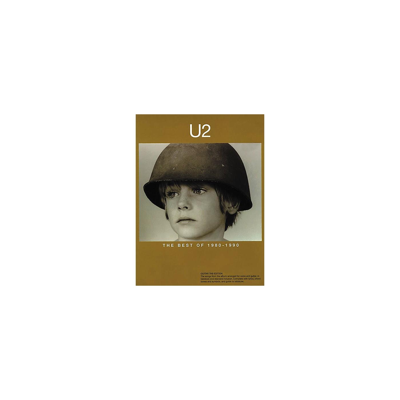 Hal Leonard U2 The Best of 1980-1990 Guitar Tab Songbook thumbnail