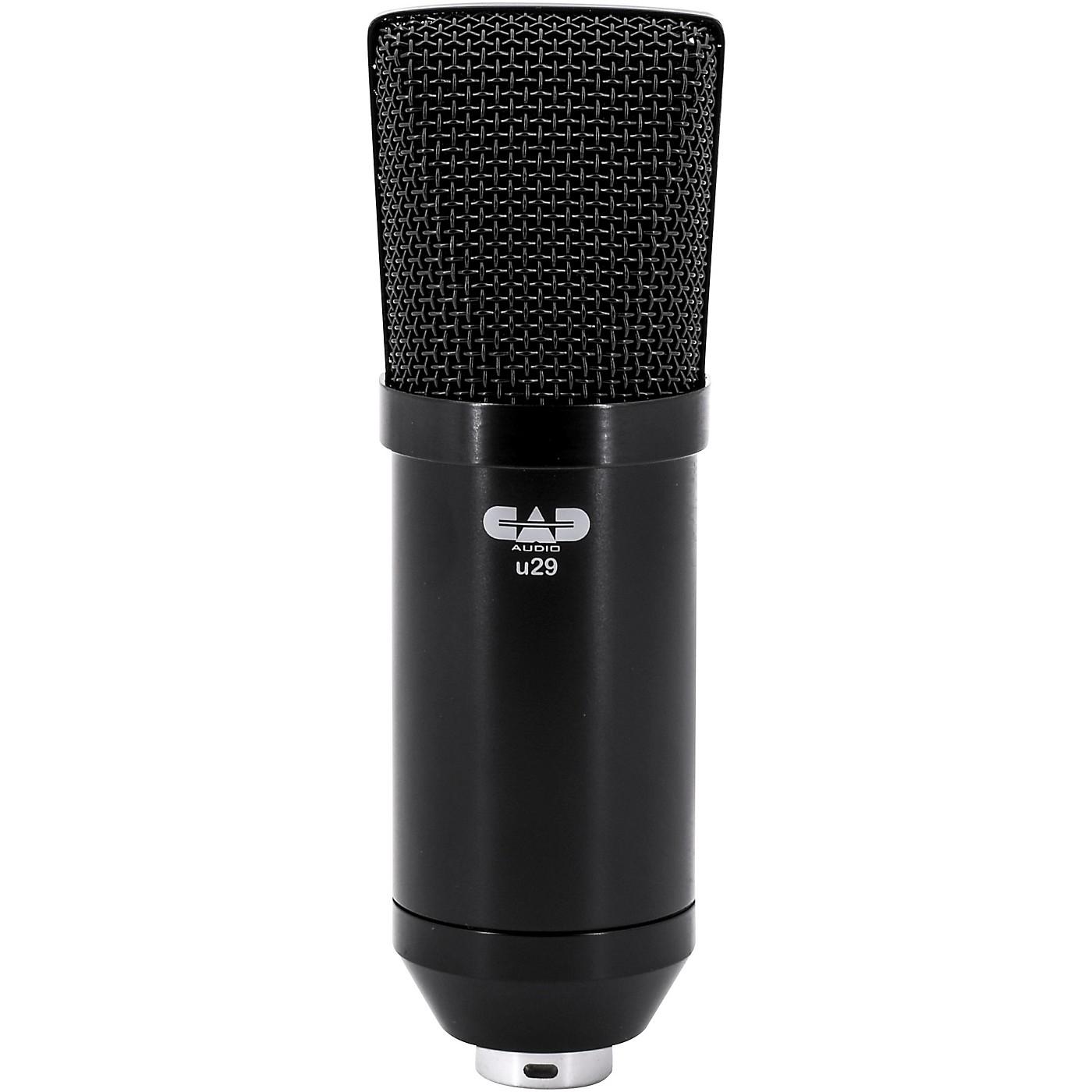 CAD U29 USB Side Address Studio Microphone thumbnail